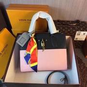 Louis Vuitton CITY STEAMER PM Pink & Black