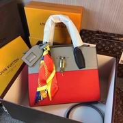 Louis Vuitton CITY STEAMER PM Red & Grey