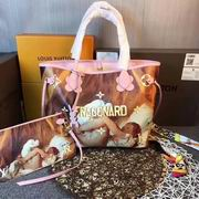 Louis Vuitton colored drawing tote pink leather ,Handbags,Louis Vuitton 5 stars replicas wholesale