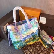 Louis Vuitton colored drawing tote purple leather ,Handbags,Louis Vuitton 5 stars replicas wholesale