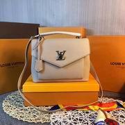 Louis Vuitton MY LOCKME Apricot leahter ,Handbags,Louis Vuitton 5 stars replicas wholesale