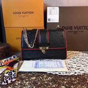 Louis Vuitton SAINT SULPICE PM Black & Red,Handbags,Louis Vuitton 5 stars replicas wholesale