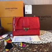 Louis Vuitton SAINT SULPICE PM Red ,Handbags,Louis Vuitton 5 stars replicas wholesale