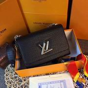 Louis Vuitton TWIST MM Black Crocodilian leather ,Handbags,Louis Vuitton 5 stars replicas wholesale
