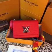 Louis Vuitton TWIST MM Red Crocodilian leather ,Handbags,Louis Vuitton 5 stars replicas wholesale