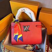 Louis Vuitton TWIST TOTE Red ,Handbags,Louis Vuitton 5 stars replicas wholesale