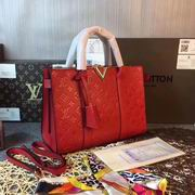 Louis Vuitton VERY TOTE MM  Red Leather ,Handbags,Louis Vuitton 5 stars replicas wholesale