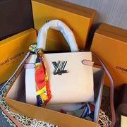 Louis Vuitton TWIST TOTE White ,Handbags,Louis Vuitton 5 stars replicas wholesale