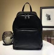 Prada black calfskin backpack with Black palladium finish hardware FOR MAN,Handbags,Prada replicas wholesale