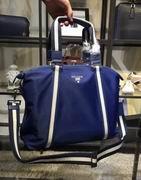 Prada blue Parachute fabric ma bag FOR MAN,Handbags,Prada replicas wholesale