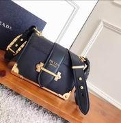 Prada black calf leather cahier bag,Handbags,Prada replicas wholesale