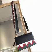 Prada Esplanade Saffiano and calf leather bag astral black & red ,Handbags,Prada replicas wholesale