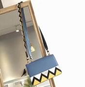 Prada Esplanade Saffiano and calf leather bag astral blue & sunny yellow ,Handbags,Prada replicas wholesale