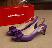 Salvatore Ferragamo  Sandal With Vara Bow SHOES purple high 5.5cm,Women Shoes,Salvatore Ferragamo replicas wholesale