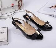 Salvatore Ferragamo  Sandal With Vara Bow SHOES black,Women Shoes,Salvatore Ferragamo replicas wholesale