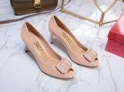 Salvatore Ferragamo Peep-Toe Pumps pink,Women Shoes,Salvatore Ferragamo replicas wholesale