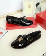 Salvatore Ferragamo Smoking slipper FLAT SHOES BRIGHT BLACK,Women Shoes,Salvatore Ferragamo replicas wholesale