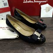 Salvatore Ferragamo Vara Low Heel Pumps black,Women Shoes,Salvatore Ferragamo replicas wholesale