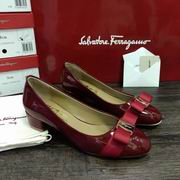 Salvatore Ferragamo Vara Low Heel Pumps wine,Women Shoes,Salvatore Ferragamo replicas wholesale
