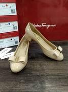 Salvatore Ferragamo Vara Pump shoe apricot,Women Shoes,Salvatore Ferragamo replicas wholesale