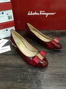 Salvatore Ferragamo Vara Pump shoes wine,Women Shoes,Salvatore Ferragamo replicas wholesale