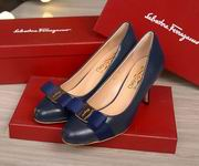Salvatore Ferragamo Carla  Bow Pumps blue hight 7.5cm,Women Shoes,Salvatore Ferragamo replicas wholesale