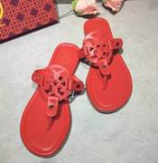 Tory Burch MILLER SANDAL, METALLIC LEATHER Red,Shoes, replicas wholesale