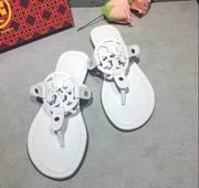 Tory Burch MILLER SANDAL, METALLIC LEATHER White,Shoes, replicas wholesale