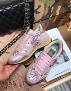 Valentino fur sneaker pink ,Women Shoes,Valentino replicas wholesale