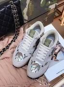 Valentino fur sneaker silver ,Women Shoes,Valentino replicas wholesale