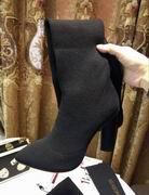 YeezySeason fur long boots High 10.5cm,Women Shoes,Yeezy Season replicas wholesale