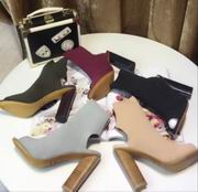 YeezySeason peep-toe boots High 10.5cm,Women Shoes,Yeezy Season replicas wholesale