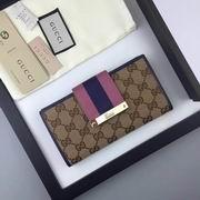 Gucci GG supreme wallet purple ,Wallet,Gucci replicas wholesale