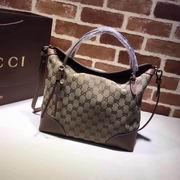Gucci GG medium shoulder bag brown