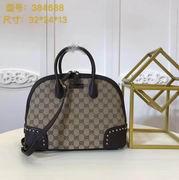 Gucci GG medium top handle bag black