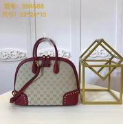 Gucci GG medium top handle bag wine,Handbags, replicas wholesale
