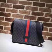 Gucci GG Supreme messenger bag black,Handbags, replicas wholesale