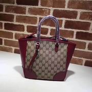 Gucci GG Supreme small tote wine,Handbags, replicas wholesale