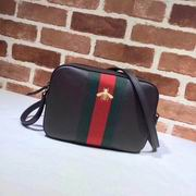 Gucci leather with bee shoulder bag brown,Handbags, replicas wholesale