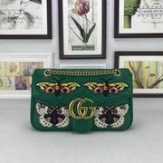 Gucci Dionysus medium shoulder bag green