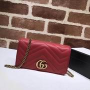 Gucci GG Marmont  mini bag red