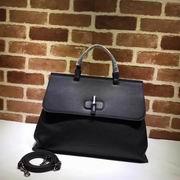 Gucci leather handle bag black,Handbags, replicas wholesale
