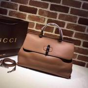 Gucci leather handle bag brown ,Handbags,Gucci replicas wholesale