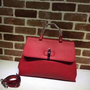 Gucci leather handle bag red ,Handbags, replicas wholesale