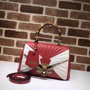 Gucci Queen Margaret medium top handle bag red & white ,Handbags,Gucci replicas wholesale