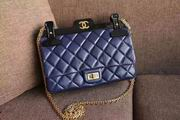 Chanel Retro Coat hanger cover bag blue,Handbags,Chanel replicas wholesale