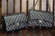 Chanel Classic cover handbag Black silver metal,Handbags,Chanel replicas wholesale