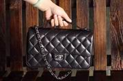 Chanel Classic cover handbag portable Black,Handbags,Chanel replicas wholesale