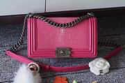 Chanel Leboy25cm roseo devil fish skin roseo silver metal ,Handbags,Chanel replicas wholesale