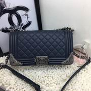 CHANEL 2017 WINTER NEW STYLE BLUE No.A90423,Handbags,Chanel replicas wholesale